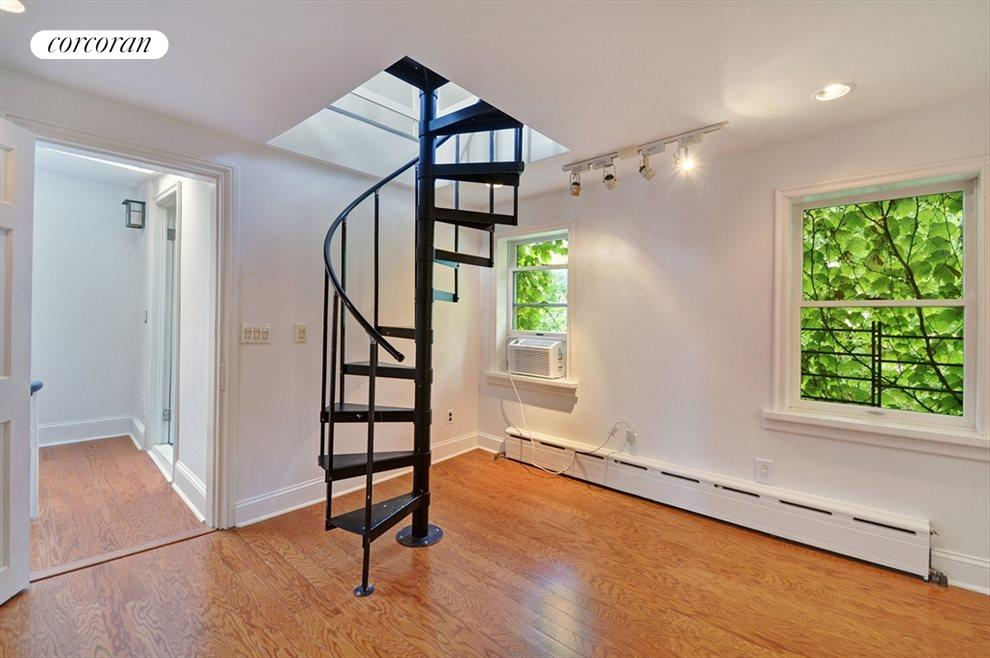 Second Bedroom with Spiral to Access Loft