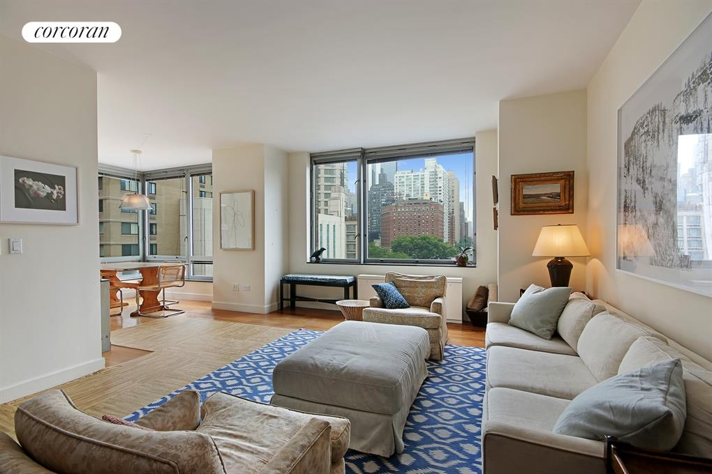 150 Columbus Avenue, 5D, Living Room / Dining Room