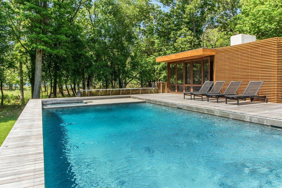 Heated gunite pool and hot tub