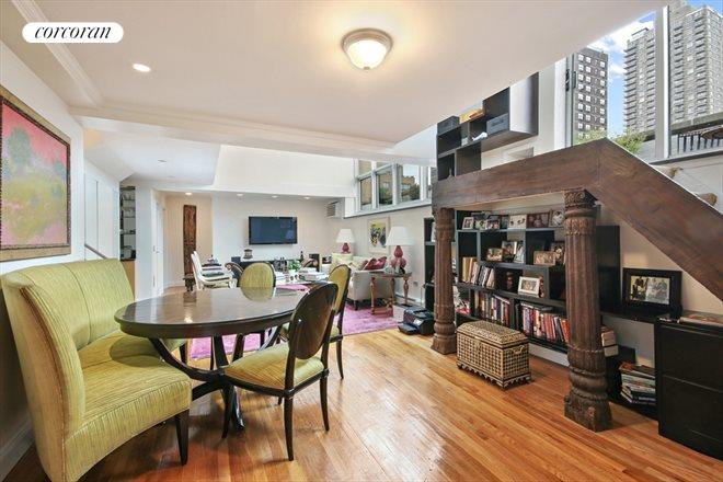 Corcoran 225 east 86th street apt ph1 upper east side for Living room 86th street