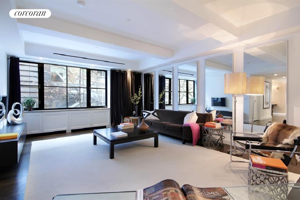 61 Fifth Avenue, DUPLEX 3, Living Room