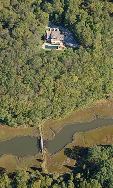 Aerial View of Genet Creek