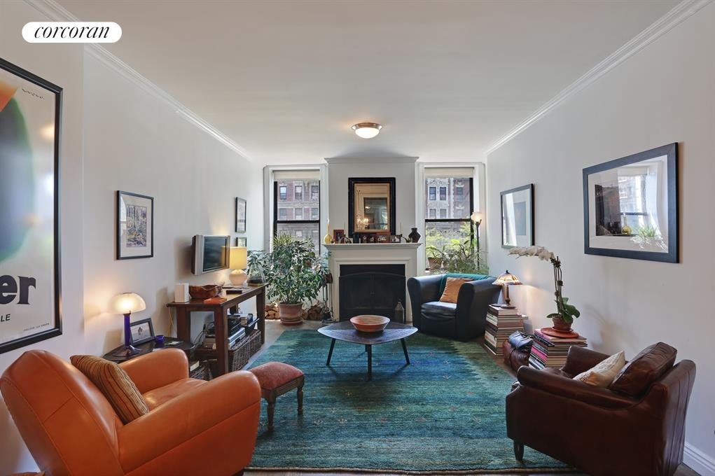 100 West 119th Street, 2B, Living Room