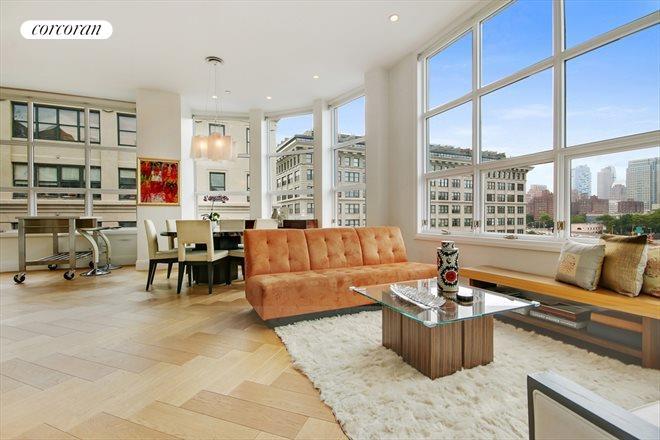 42 Main Street, 10F, Living Room