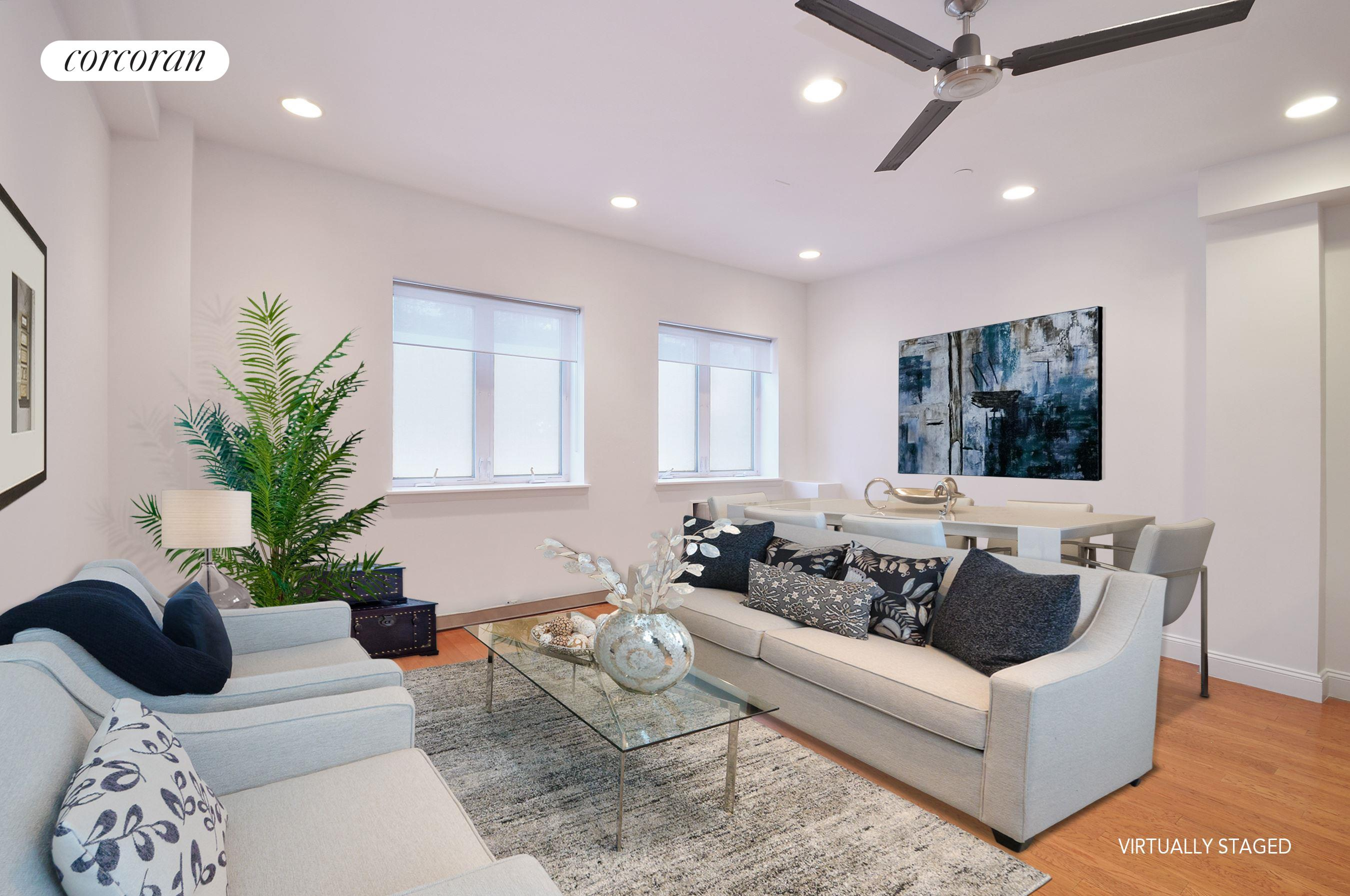 525 Vanderbilt Avenue, 1A, Spacious Open Plan Living