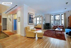 340 West 86th Street, 4BE, Living Room