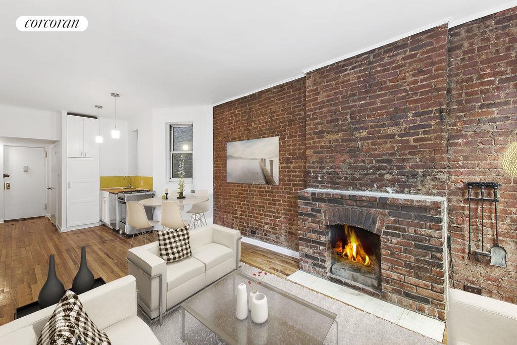 92 Horatio Street 3S Living Room