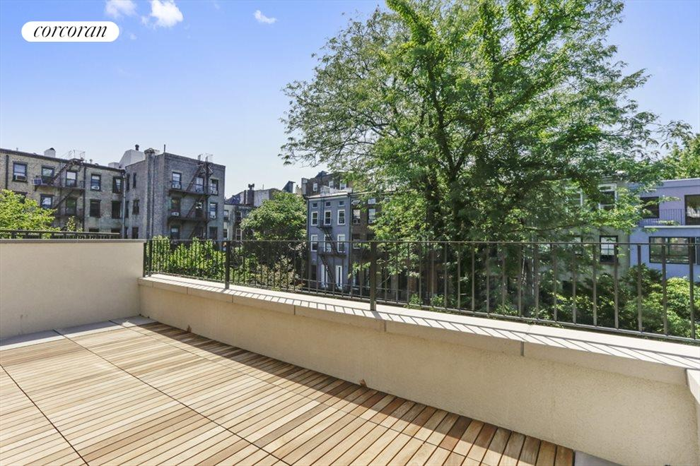 New York City Real Estate | View 198 Warren Street, #Triplex | Terrace