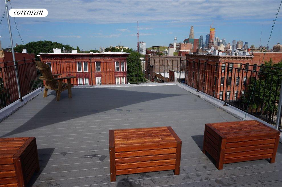 Dedicated Roof Terrace with Full City Views