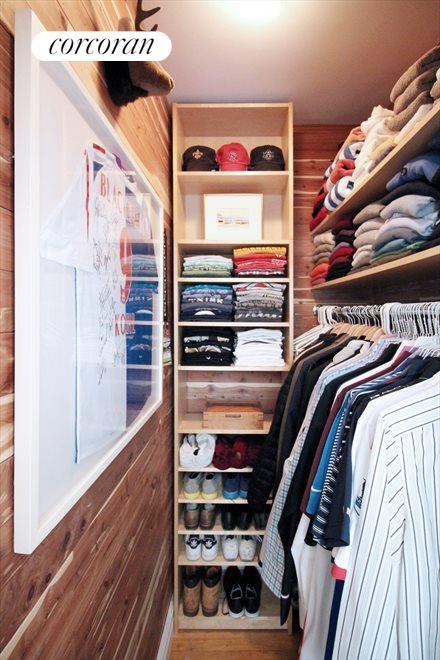 Walk-in Cedar Closet
