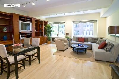 61 East 77th Street, 4BC, Living Room