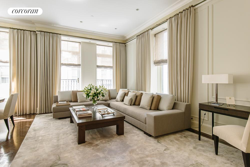 1 Central Park South, 1204, Living Room