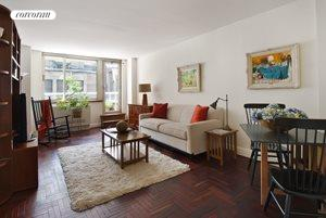 2373 Broadway, 330, Living Room with Terrace access