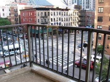 345 East 80th Street, 4G, VIEW FROM BALCONY