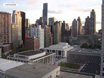 rooftop overlooking Lincoln Center