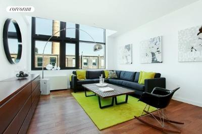 70 Berry Street, 6E, Living Room