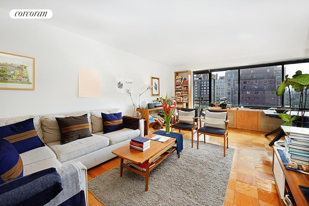 372 Central Park West, 14W, Living Room