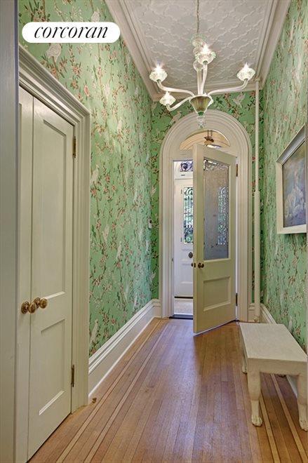 Gracious entrance foyer