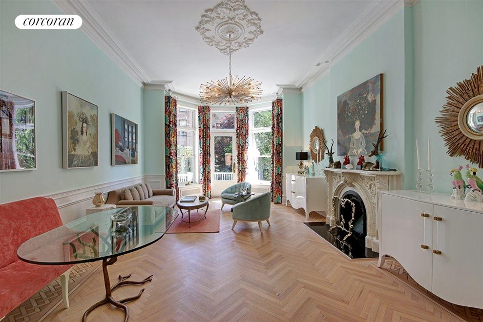 Grand parlor living room