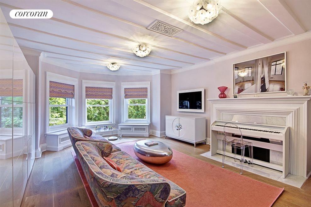 Fifth floor living room