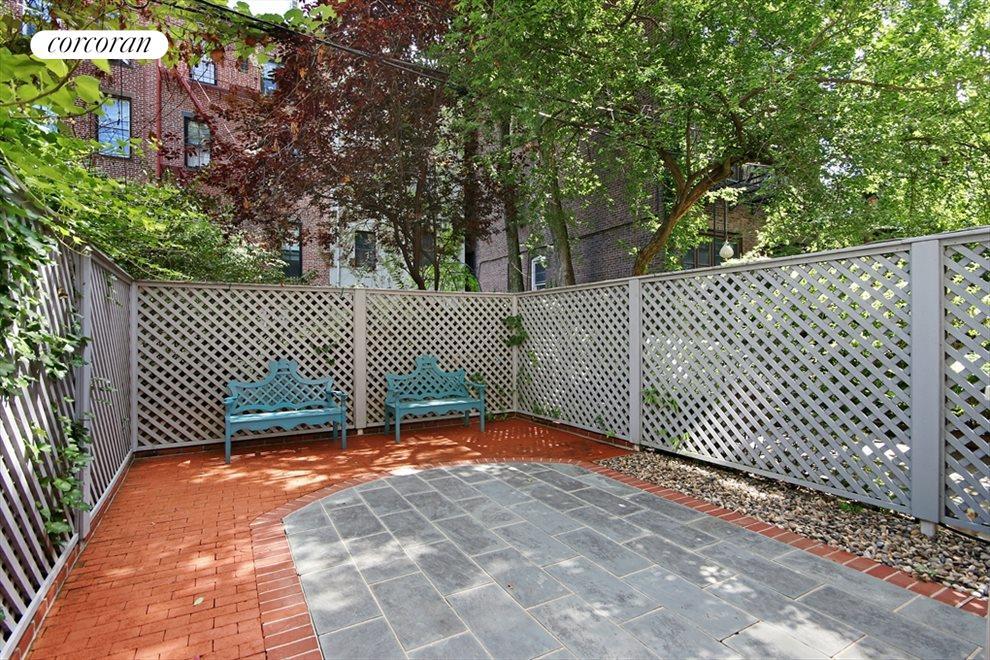 East facing patio/garden