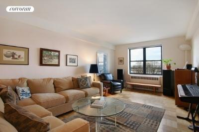 345 Riverside Drive, 6D, Living Room