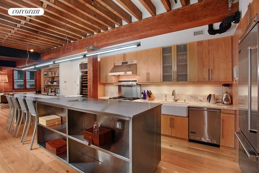 Open Chef's Kitchen,