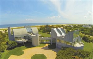 Spectacular Modern Oceanfront Home, Southampton