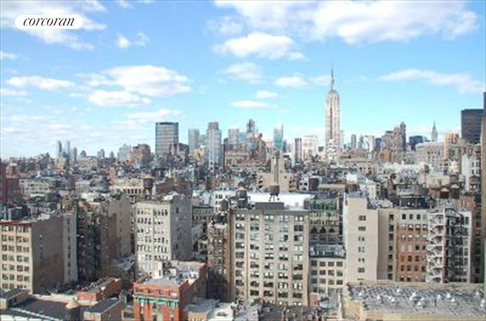 New York City Real Estate | View 22 West 15th Street, #PHB | View from terrace