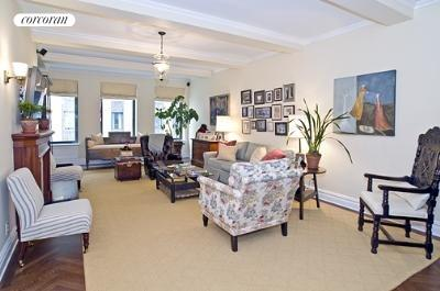 101 Central Park West, 6G, Living Room