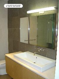 separate soaking tub, shower