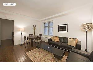 100 West 58th Street, 5H, Living Room
