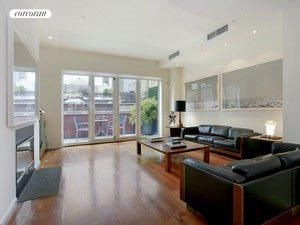 58 THOMAS ST, PH, Sunfilled Living Room with WBFP