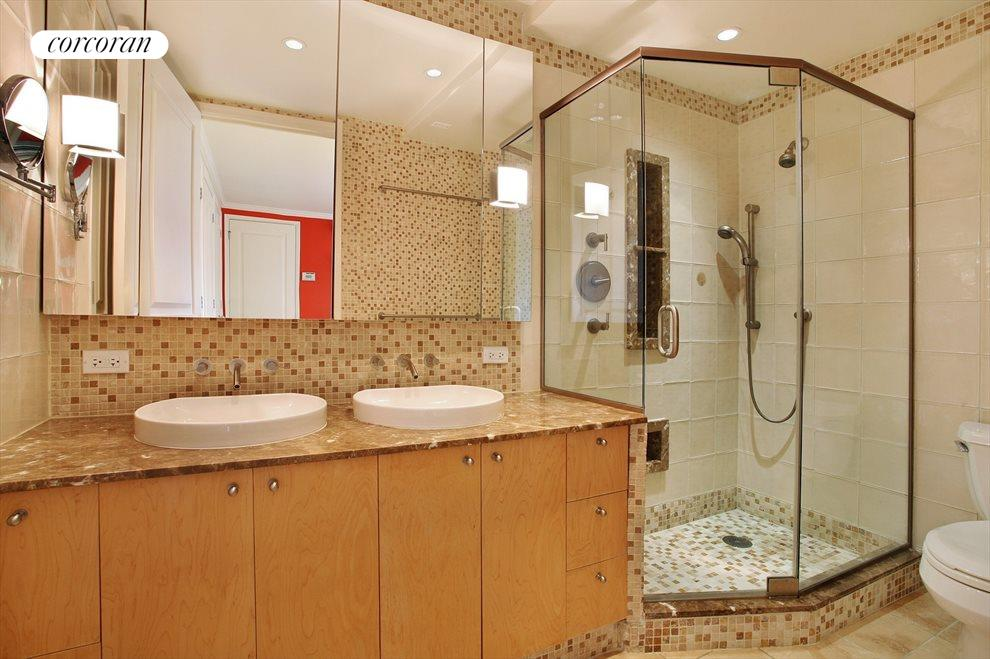 Stunning Master Bath with Double Sinks