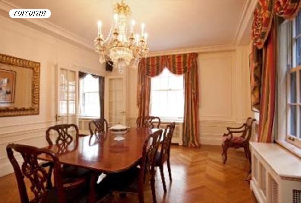 Immense Corner Formal Dining Room