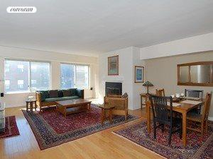 381 LENOX AVE, 3A, Living Room
