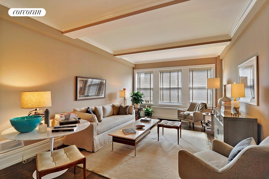 165 West 91st Street, 16E, Living Room