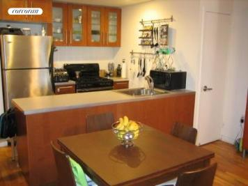 open renovated kitchen