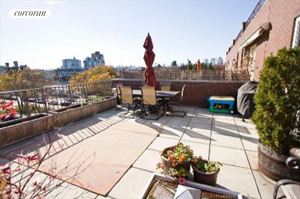 Private roof terrace