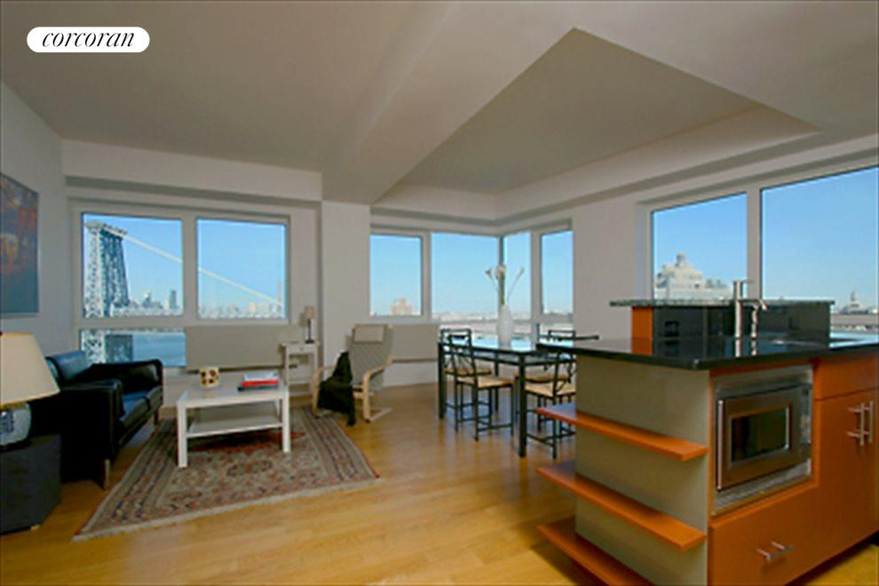 New York City Real Estate | View 440 Kent Avenue, #19D | 2 Beds, 2 Baths