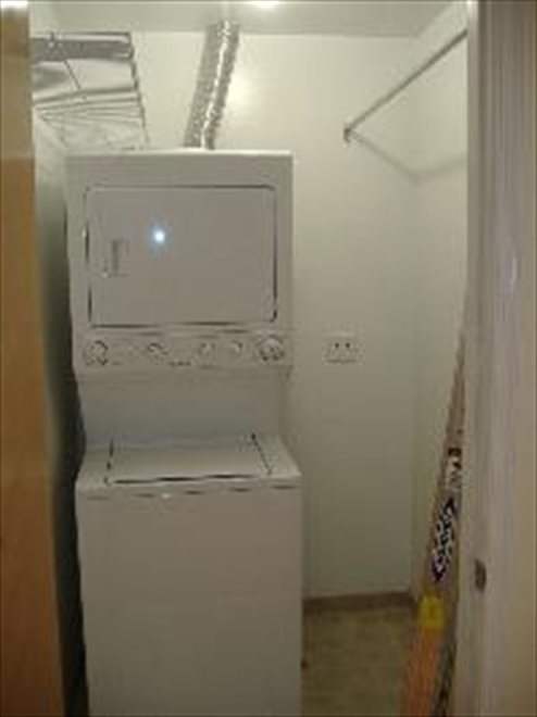 Washer/Dryer in Apartment