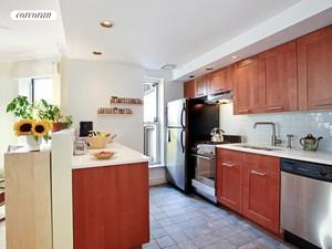 Renovated open kitchen