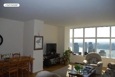 160 West 66th Street, 48F, Living Room
