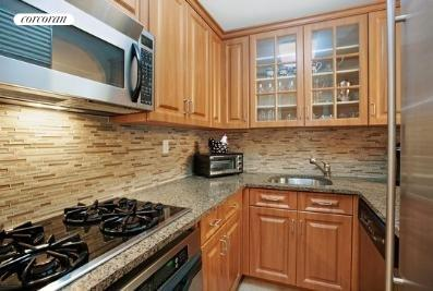 44 East 12th Street, 7A, Beautifully renovated kitchen with pass thru.