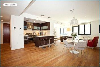 50 West 15th Street, 5D, Living Room/Kitchen