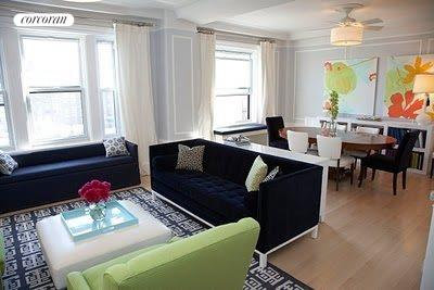 316 West 79th Street, 11W, Living Room