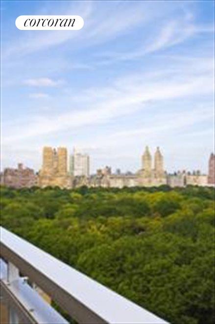 Oblique view of Central Park