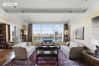 320 Central Park West, 16A, Living Room