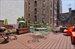 Private 400 sq ft sunny terrace