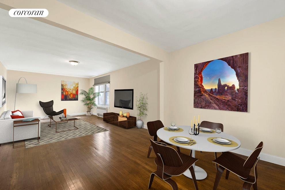 New York City Real Estate | View 3202 Nostrand Avenue, #3L | 2 Beds, 1 Bath